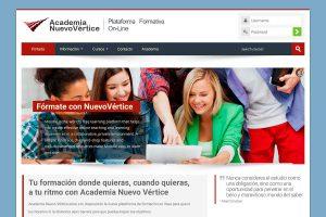 Crealogic | Diseño Web | Academia Nuevo Vértice