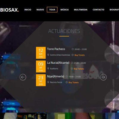 Crealogic | Diseño Web | Rubiosax