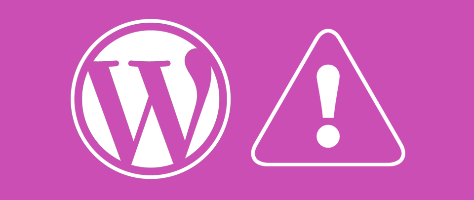 Alerta de Seguridad Wordpress