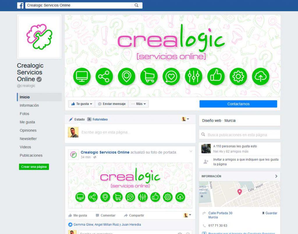Nueva disposición de diseño en Facebook 2016