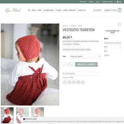 tienda online moda infantil